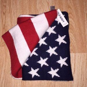 NWT American flag scarf 🧣